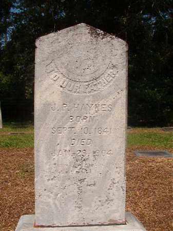 HAYNES, J P - Calhoun County, Arkansas | J P HAYNES - Arkansas Gravestone Photos