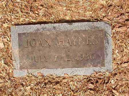 HAYNES, JOAN - Calhoun County, Arkansas   JOAN HAYNES - Arkansas Gravestone Photos