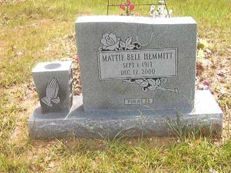 HEMMITT, MATTIE BELL - Calhoun County, Arkansas | MATTIE BELL HEMMITT - Arkansas Gravestone Photos