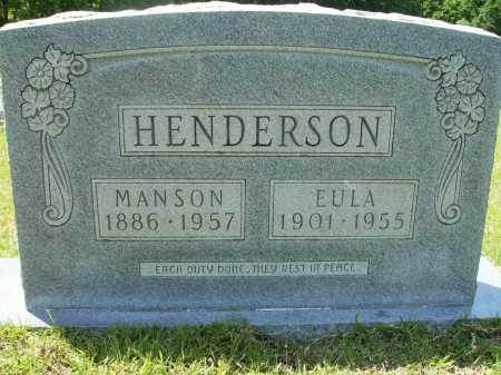 HENDERSON, MANSON - Calhoun County, Arkansas | MANSON HENDERSON - Arkansas Gravestone Photos