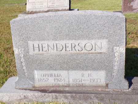 HENDERSON, R H - Calhoun County, Arkansas | R H HENDERSON - Arkansas Gravestone Photos