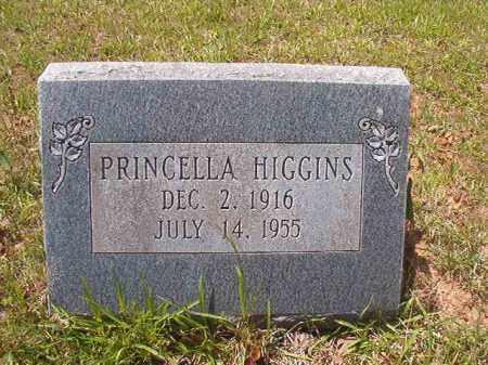 HIGGINS, PRINCELLA - Calhoun County, Arkansas | PRINCELLA HIGGINS - Arkansas Gravestone Photos