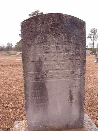 HILL, ANNIE - Calhoun County, Arkansas | ANNIE HILL - Arkansas Gravestone Photos