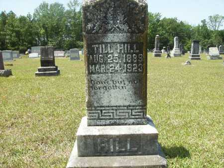 HILL, TILL - Calhoun County, Arkansas | TILL HILL - Arkansas Gravestone Photos
