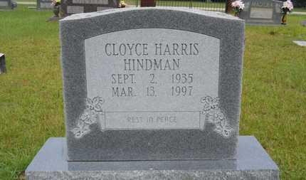 HARRIS HINDMAN, CLOYCE - Calhoun County, Arkansas | CLOYCE HARRIS HINDMAN - Arkansas Gravestone Photos
