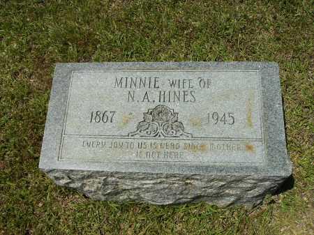 HINES, MINNIE - Calhoun County, Arkansas | MINNIE HINES - Arkansas Gravestone Photos