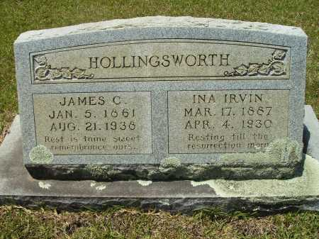 HOLLINGSWORTH, JAMES C - Calhoun County, Arkansas | JAMES C HOLLINGSWORTH - Arkansas Gravestone Photos