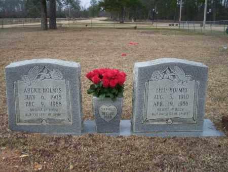 HOLMES, EFFIE - Calhoun County, Arkansas | EFFIE HOLMES - Arkansas Gravestone Photos