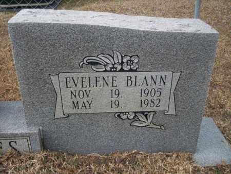 BLANN HOLMES, EVELENE (CLOSEUP) - Calhoun County, Arkansas | EVELENE (CLOSEUP) BLANN HOLMES - Arkansas Gravestone Photos