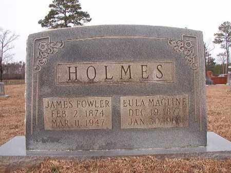 HOLMES, EULA MAGLINE - Calhoun County, Arkansas   EULA MAGLINE HOLMES - Arkansas Gravestone Photos