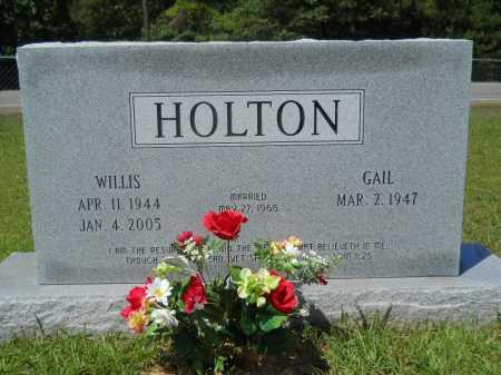 HOLTON, WILLIS - Calhoun County, Arkansas | WILLIS HOLTON - Arkansas Gravestone Photos