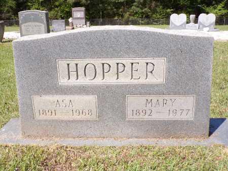 HOPPER, ASA - Calhoun County, Arkansas | ASA HOPPER - Arkansas Gravestone Photos