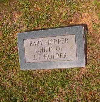 HOPPER, BABY - Calhoun County, Arkansas | BABY HOPPER - Arkansas Gravestone Photos