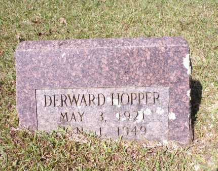 HOPPER, DERWARD - Calhoun County, Arkansas | DERWARD HOPPER - Arkansas Gravestone Photos