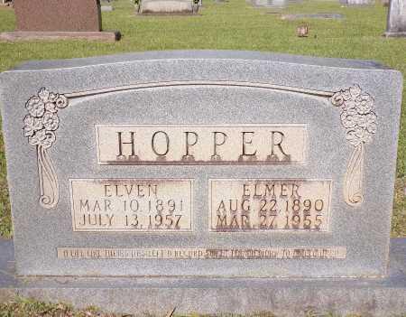 HOPPER, ELMER - Calhoun County, Arkansas   ELMER HOPPER - Arkansas Gravestone Photos