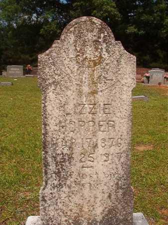 HOPPER, LIZZIE - Calhoun County, Arkansas | LIZZIE HOPPER - Arkansas Gravestone Photos