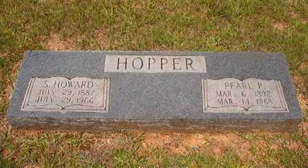 HOPPER, S HOWARD - Calhoun County, Arkansas | S HOWARD HOPPER - Arkansas Gravestone Photos