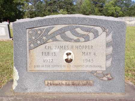 HOPPER (VETERAN WWII), JAMES H - Calhoun County, Arkansas | JAMES H HOPPER (VETERAN WWII) - Arkansas Gravestone Photos