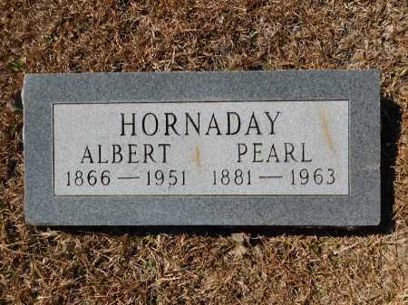 HORNADAY, ALBERT - Calhoun County, Arkansas | ALBERT HORNADAY - Arkansas Gravestone Photos