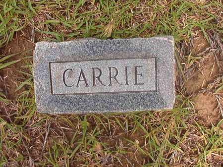 HORNADAY, CARRIE - Calhoun County, Arkansas   CARRIE HORNADAY - Arkansas Gravestone Photos