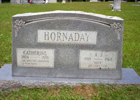 "HORNADAY, A J ""DOCK"" - Calhoun County, Arkansas 