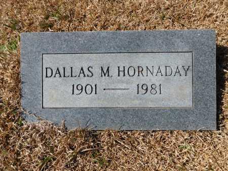 HORNADAY, DALLAS M - Calhoun County, Arkansas | DALLAS M HORNADAY - Arkansas Gravestone Photos
