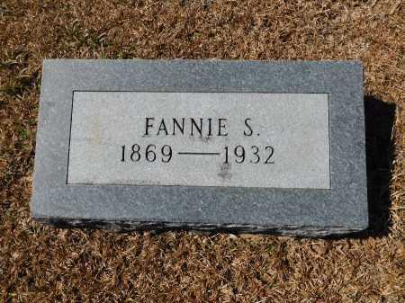 HORNADAY, FANNIE S - Calhoun County, Arkansas | FANNIE S HORNADAY - Arkansas Gravestone Photos