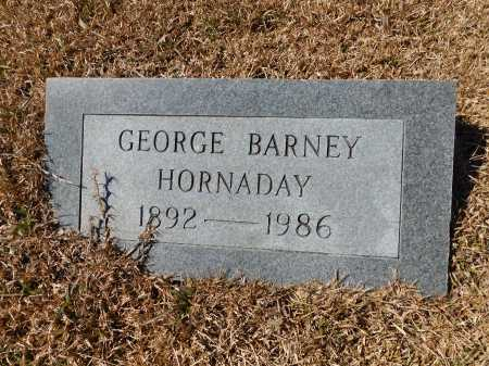 HORNADAY, GEORGE BARNEY - Calhoun County, Arkansas | GEORGE BARNEY HORNADAY - Arkansas Gravestone Photos