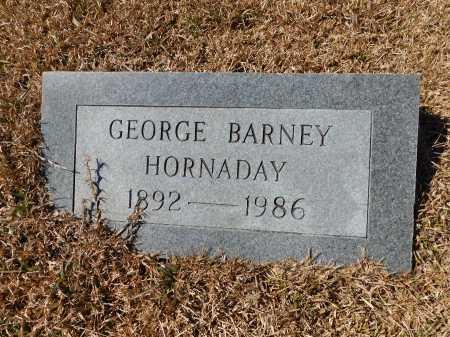 HORNADAY, GEORGE BARNEY - Calhoun County, Arkansas | GEORGE BARNEY HORNADAY - Arkansas Gravestone Photos