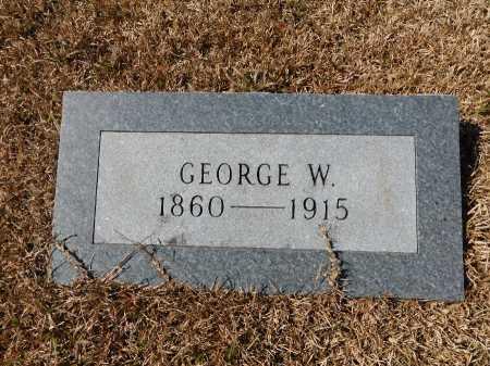 HORNADAY, GEORGE W - Calhoun County, Arkansas   GEORGE W HORNADAY - Arkansas Gravestone Photos