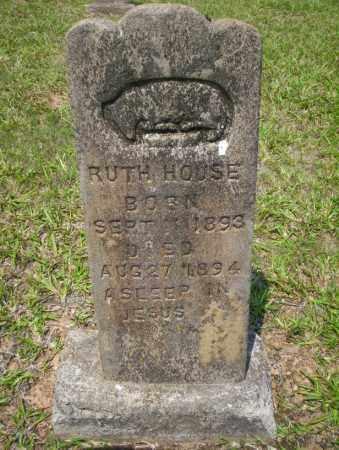 HOUSE, RUTH - Calhoun County, Arkansas | RUTH HOUSE - Arkansas Gravestone Photos