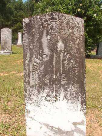 HOUSE (VETERAN CSA), WILLIS M - Calhoun County, Arkansas | WILLIS M HOUSE (VETERAN CSA) - Arkansas Gravestone Photos