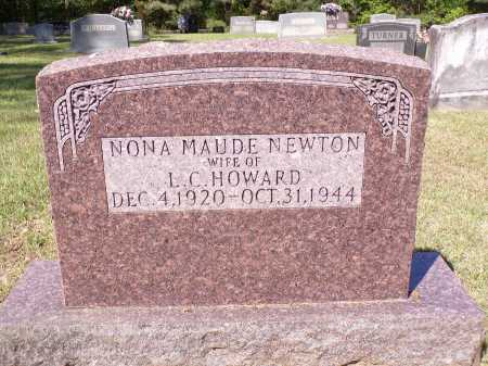 NEWTON HOWARD, NONA MAUDE - Calhoun County, Arkansas | NONA MAUDE NEWTON HOWARD - Arkansas Gravestone Photos