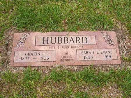 HUBBARD, SARAH E - Calhoun County, Arkansas | SARAH E HUBBARD - Arkansas Gravestone Photos