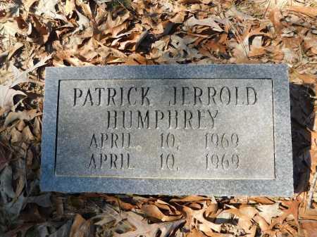 HUMPHREY, PATRICK JERROLD - Calhoun County, Arkansas | PATRICK JERROLD HUMPHREY - Arkansas Gravestone Photos