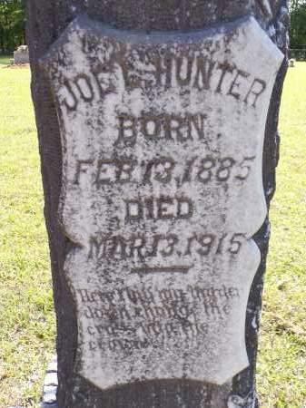 HUNTER, JOE L - Calhoun County, Arkansas   JOE L HUNTER - Arkansas Gravestone Photos
