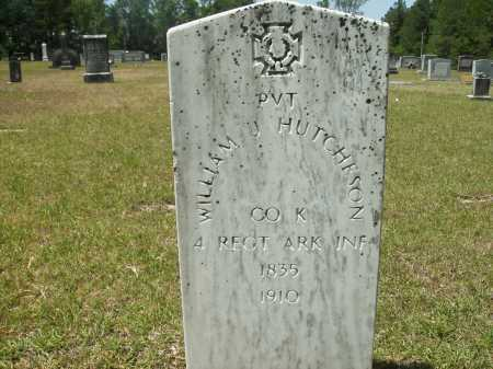 HUTCHESON (VETERAN CSA), WILLIAM J - Calhoun County, Arkansas | WILLIAM J HUTCHESON (VETERAN CSA) - Arkansas Gravestone Photos