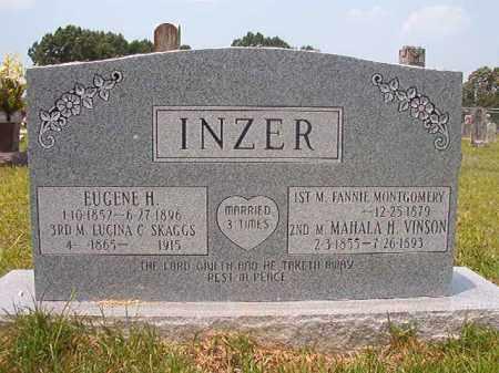 INZER, FANNIE - Calhoun County, Arkansas | FANNIE INZER - Arkansas Gravestone Photos