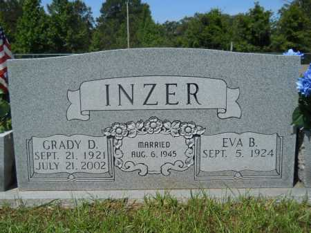 INZER, GRADY D - Calhoun County, Arkansas | GRADY D INZER - Arkansas Gravestone Photos