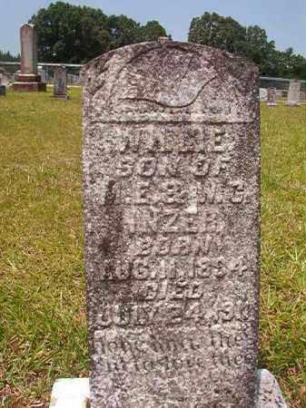 INZER, WILLIE - Calhoun County, Arkansas   WILLIE INZER - Arkansas Gravestone Photos