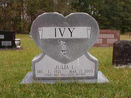 IVY, JULIA - Calhoun County, Arkansas   JULIA IVY - Arkansas Gravestone Photos