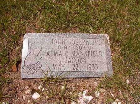 JACOBS, JR, JOHN JOSEPH - Calhoun County, Arkansas   JOHN JOSEPH JACOBS, JR - Arkansas Gravestone Photos