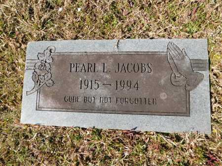 JACOBS, PEARL L - Calhoun County, Arkansas | PEARL L JACOBS - Arkansas Gravestone Photos