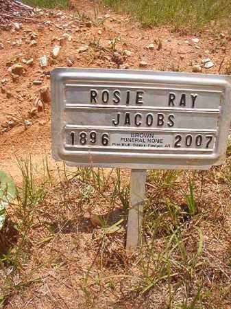JACOBS, ROSIE RAY - Calhoun County, Arkansas | ROSIE RAY JACOBS - Arkansas Gravestone Photos