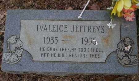 JEFFERYS, IVALEICE - Calhoun County, Arkansas | IVALEICE JEFFERYS - Arkansas Gravestone Photos