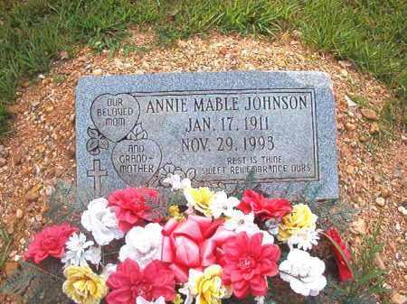 JOHNSON, ANNIE MABLE - Calhoun County, Arkansas   ANNIE MABLE JOHNSON - Arkansas Gravestone Photos