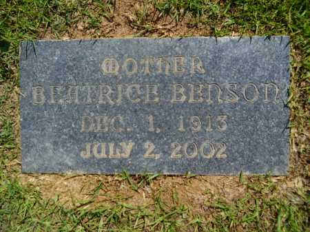 BENSON JOHNSON, BEATRICE - Calhoun County, Arkansas | BEATRICE BENSON JOHNSON - Arkansas Gravestone Photos