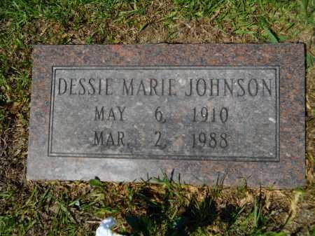JOHNSON, DESSIE MARIE - Calhoun County, Arkansas | DESSIE MARIE JOHNSON - Arkansas Gravestone Photos
