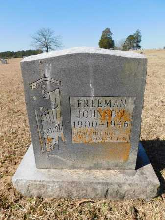 JOHNSON, FREEMAN - Calhoun County, Arkansas | FREEMAN JOHNSON - Arkansas Gravestone Photos
