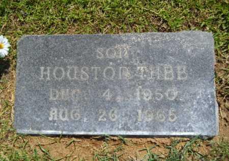 JOHNSON, HOUSTON THEE - Calhoun County, Arkansas   HOUSTON THEE JOHNSON - Arkansas Gravestone Photos